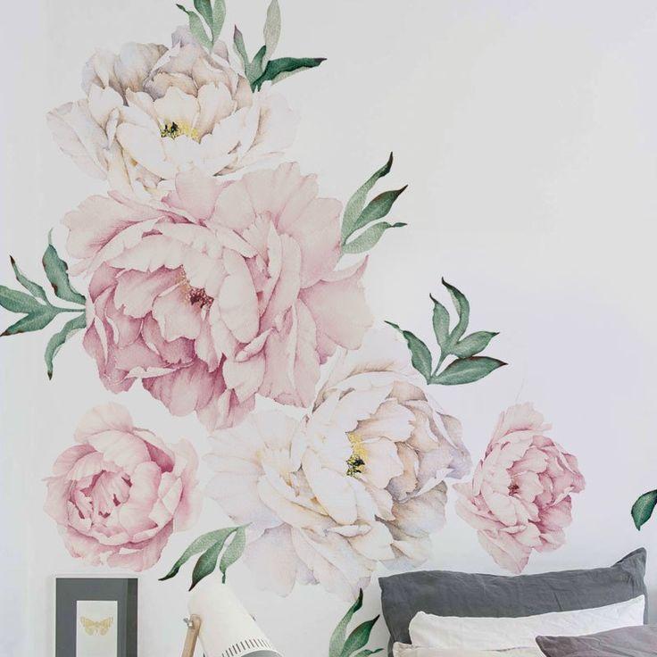 Best 25 Flower Wall Decals Ideas On Pinterest Flower