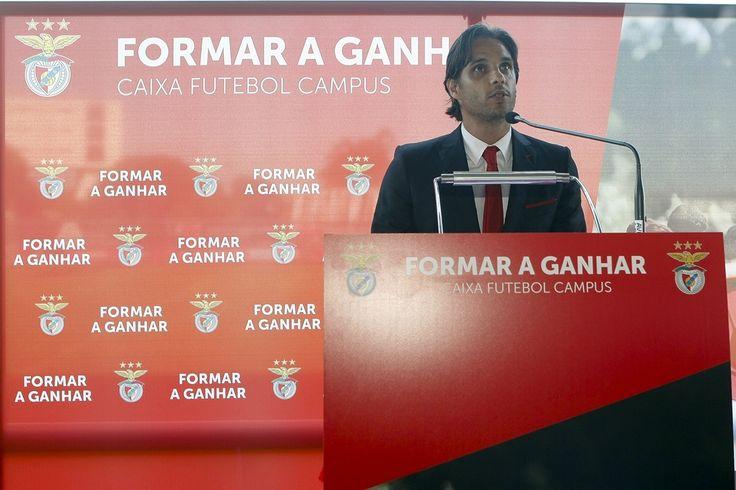 """Nuno Gomes, diretor-geral do centro de formação: """"Estamos ao nível dos grandes clubes mundiais""""."""