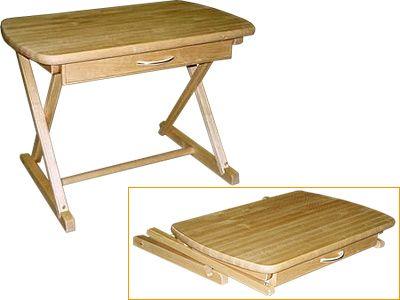 Столик деревянный складной
