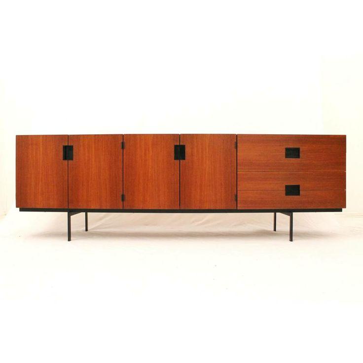 Pastoe dressoir #DU03 ontworpen door Cees #Braakman in de jaren #50