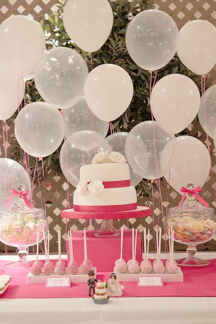 NiceParty decoración globos (9) by NiceParty, via Flickr...love the transparent and non balloons