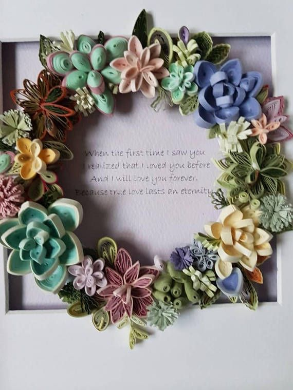 Paper Quilling Art Handmade Quilling Card For Any Occasion Spring
