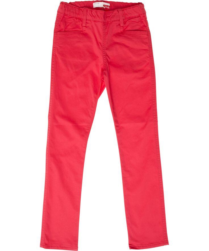 Name It framboos-roze legging in zachte stretch katoen. name-it.nl.emilea.be