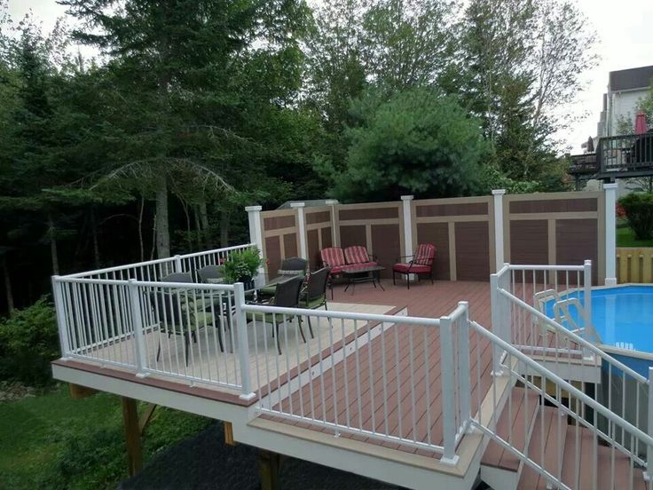 Composite pool deck