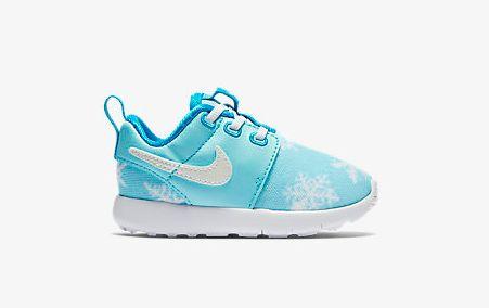 nike, sneaker, baby, frozen, rose run