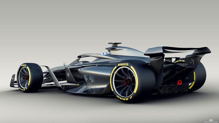 Formula 1 reveals full details of 2021 car design concepts ...