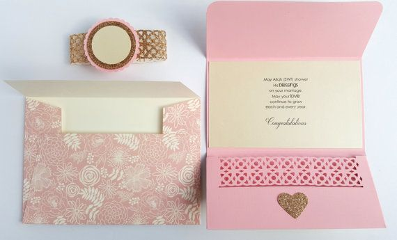 Check out this item in my Etsy shop https://www.etsy.com/ca/listing/452059168/custom-money-holder-card-wedding-card