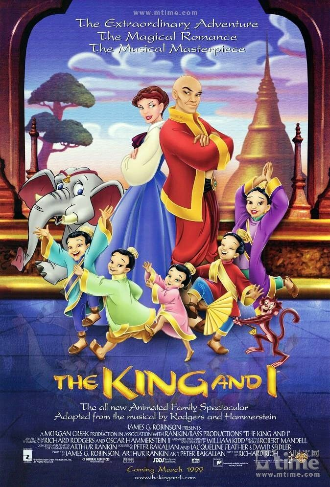 The King and I, Richard Rich, 1998 (674x996)