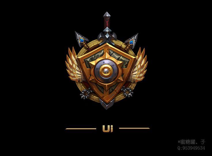 Cool game icon UI design