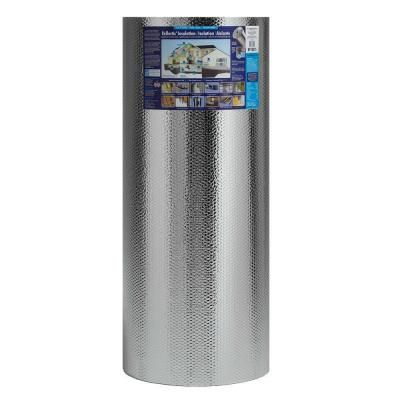 Reflectix 48 In X 100 Ft Double Reflective Insulation With Staple Tab St48100 The Home Depot