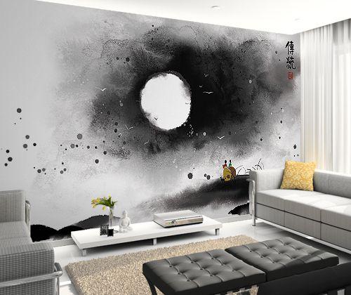 상품 상세보기 : 자연그린 벽지&롤스크린 - 동양화 OP_613