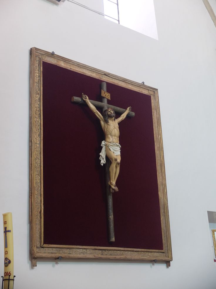 Iglesia de la Asunción. Cristo en nave del evangelio.