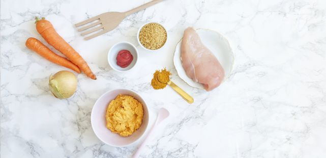 Kycklinggryta med curry och couscous