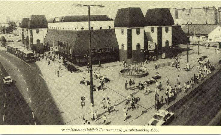 Miskolc, Centrum Áruház Forrás: Miskolc a Múltban Szojka Ágnes