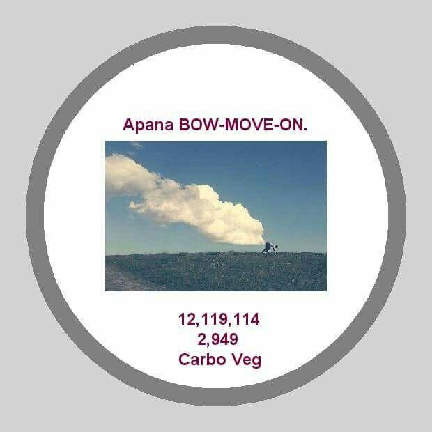 Apana BOW-MOVE-ON   RELEASE Gas and Flatulence