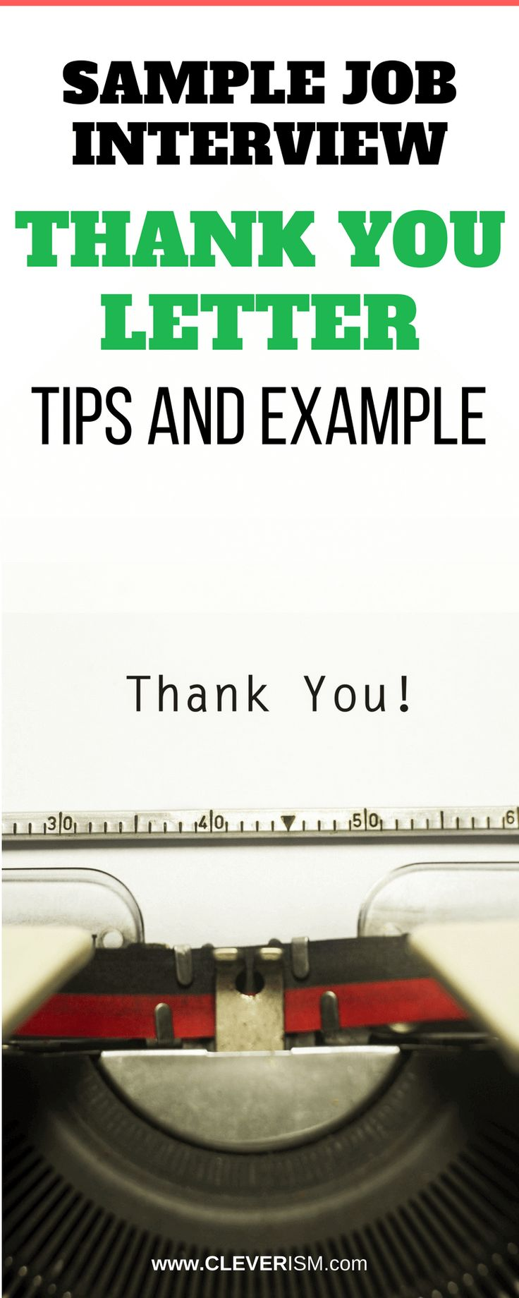 The 25 best thank you interview letter ideas on pinterest sample job interview thank you letter tips and example aljukfo Images