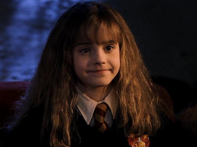 12- Venue pour s'amuser, Emma Watson a été auditionnée au gymnase de sa propre école.