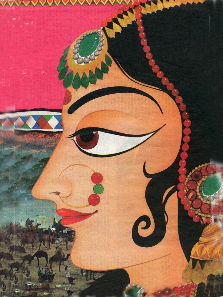 beauty Indian face