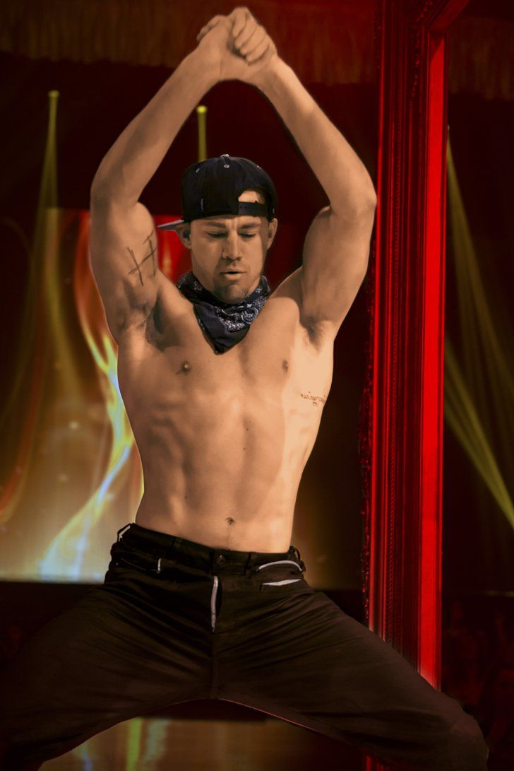 Pin for Later: The Best Shirtless Movie Moments of 2015 Magic Mike XXL Oh, to be on the receiving end of this lap dance.