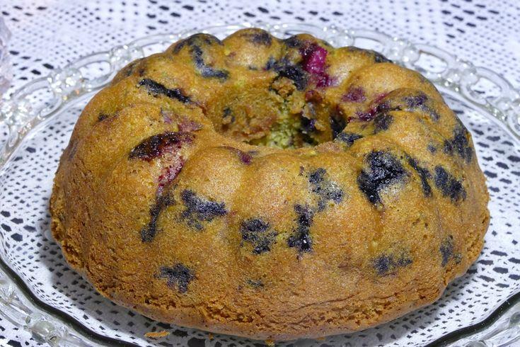 Κέικ με μύρτιλα και σμέουρα (3)