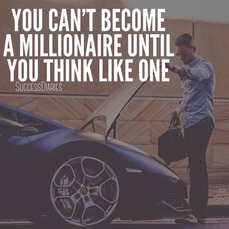 Think and act like an honest millionaire!