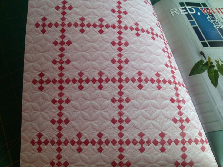 KISSed Quilts - Keeping It Simple and Stunning: Red, White & Quilted - new AQS Book