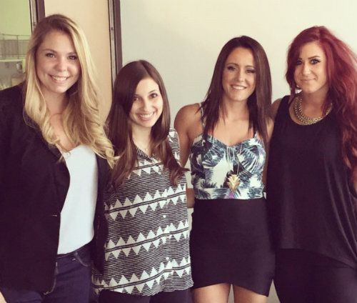 PHOTOS Teen Mom 2 cast (minus Leah Calvert) reunites in NYC