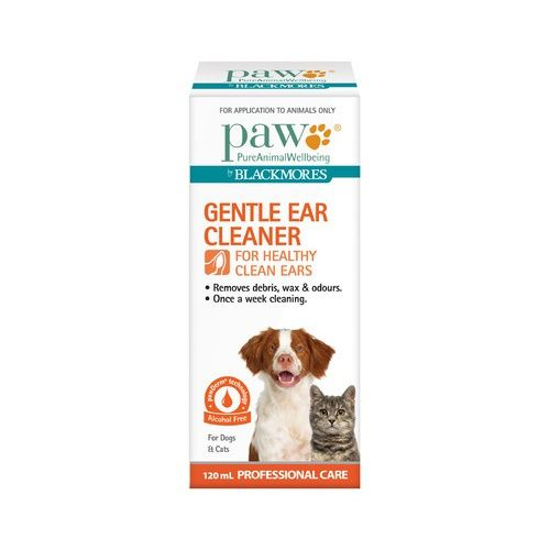 PAW BY BLACKMORES GENTLE EAR CLEANER FOR CATS OR DOGS