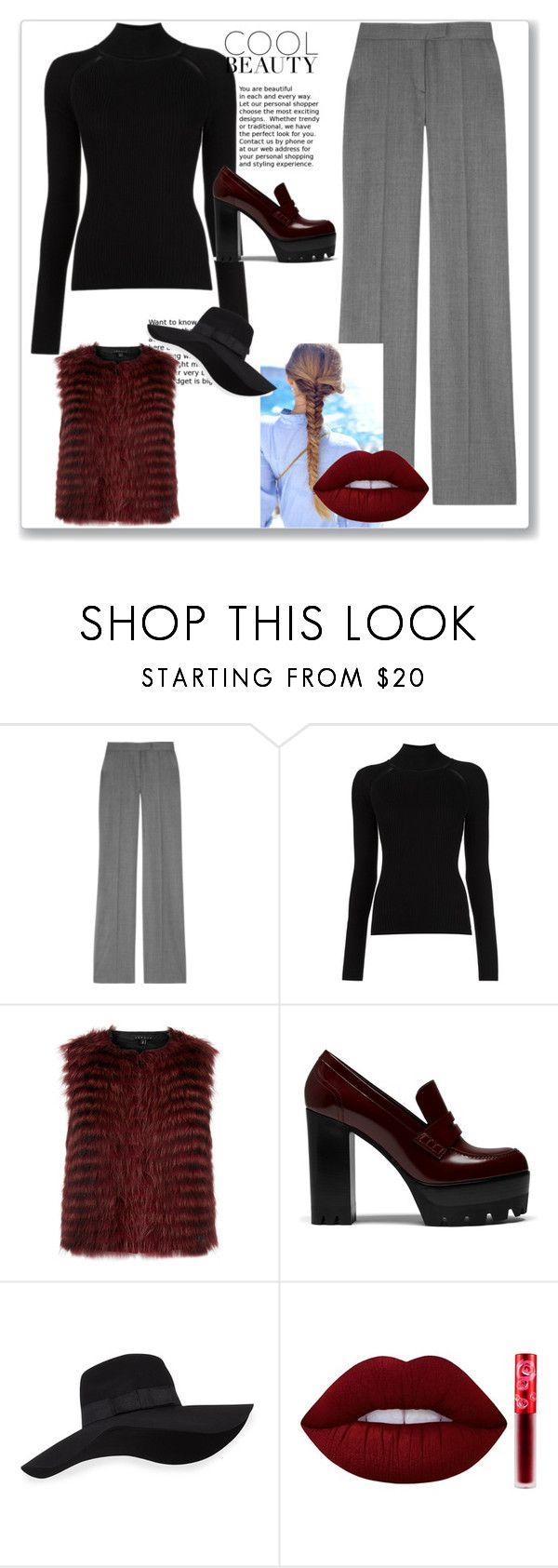 """Черная водолазка 5"" by izolda06 on Polyvore featuring мода, STELLA McCARTNEY, Misha Nonoo, Theory, Mulberry, San Diego Hat Co. и Lime Crime"