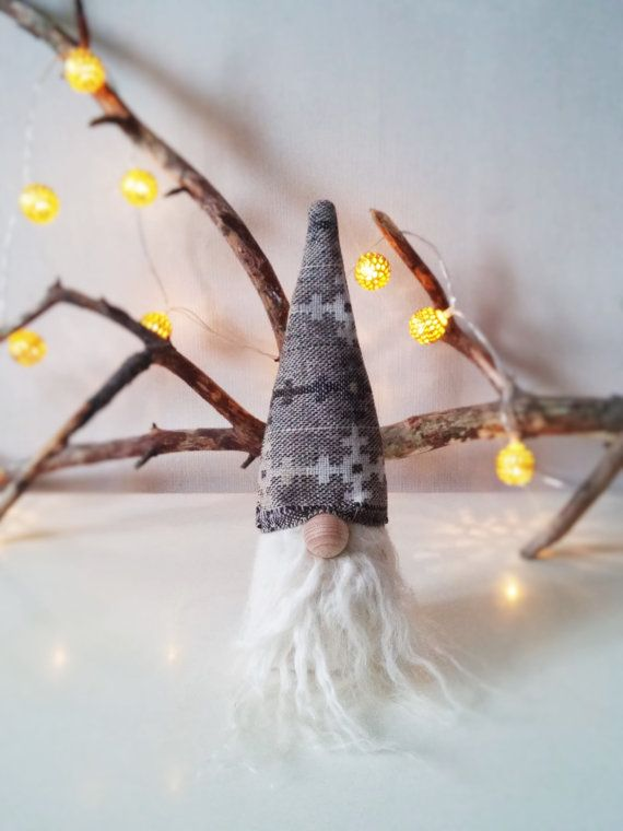 Scandinavian Swedish Christmas gnome Tomte Nisse by ScandiTomte