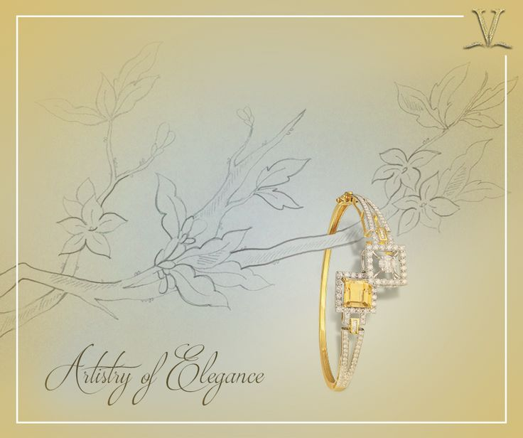 With explicit interest to each piece, the gorgeous citrine armlet carved expressly for you. #ArtistryOfElegance