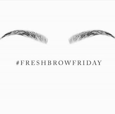 Visit our #‎Estheticians this weekend for nice fresh #‎eyebrows! #‎RanchoMirage…
