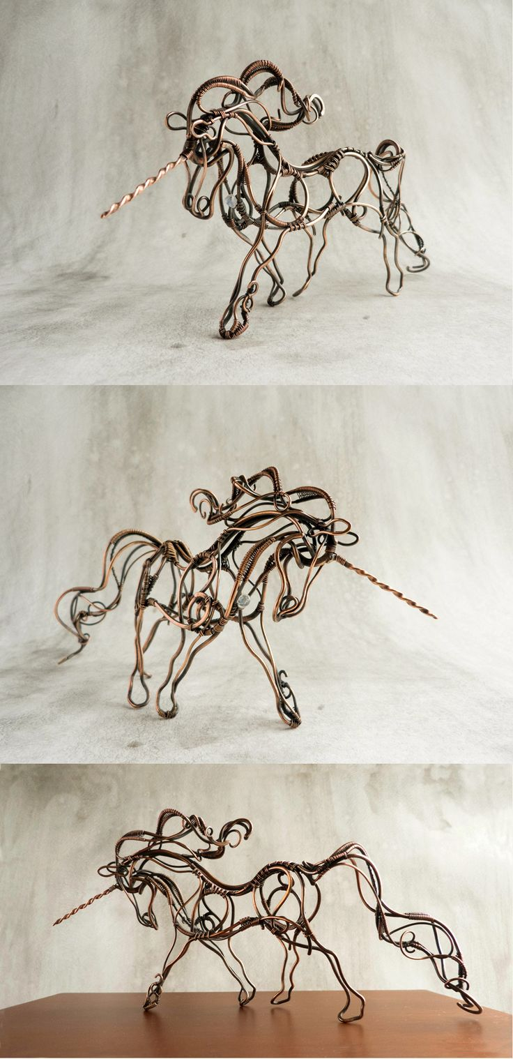 Wire Art 248 Best Wire Art Animals Images On Pinterest