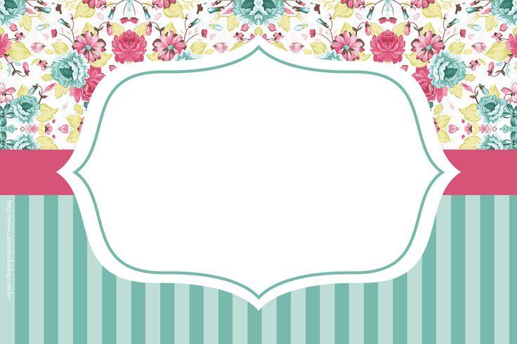 Shabby Chic Especial:  Mini Kit para Imprimir Gratis.
