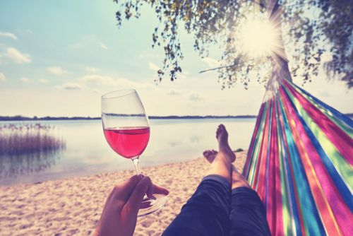 It's National Hammock Day! Grab a bottle of Candoni and a favorite book, and relax. Here's where to buy: