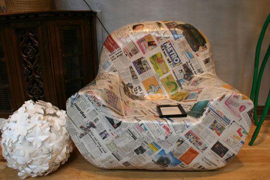 Trash Luxe, reclaiming design, trash as treasure, trash design, garbage design, london design festival, reused materials, reused design, recycled design, Majid Asif