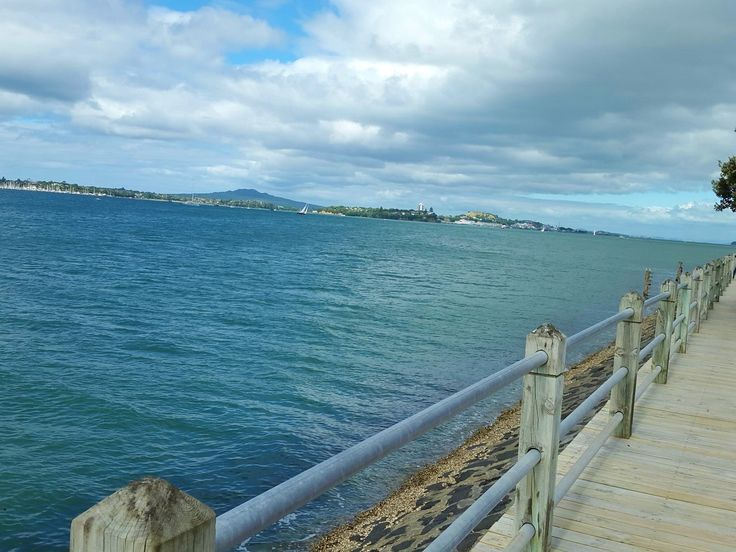 View of Rangitoto Island from Westhaven Marina, Auckland, New Zealand (by KaVa)