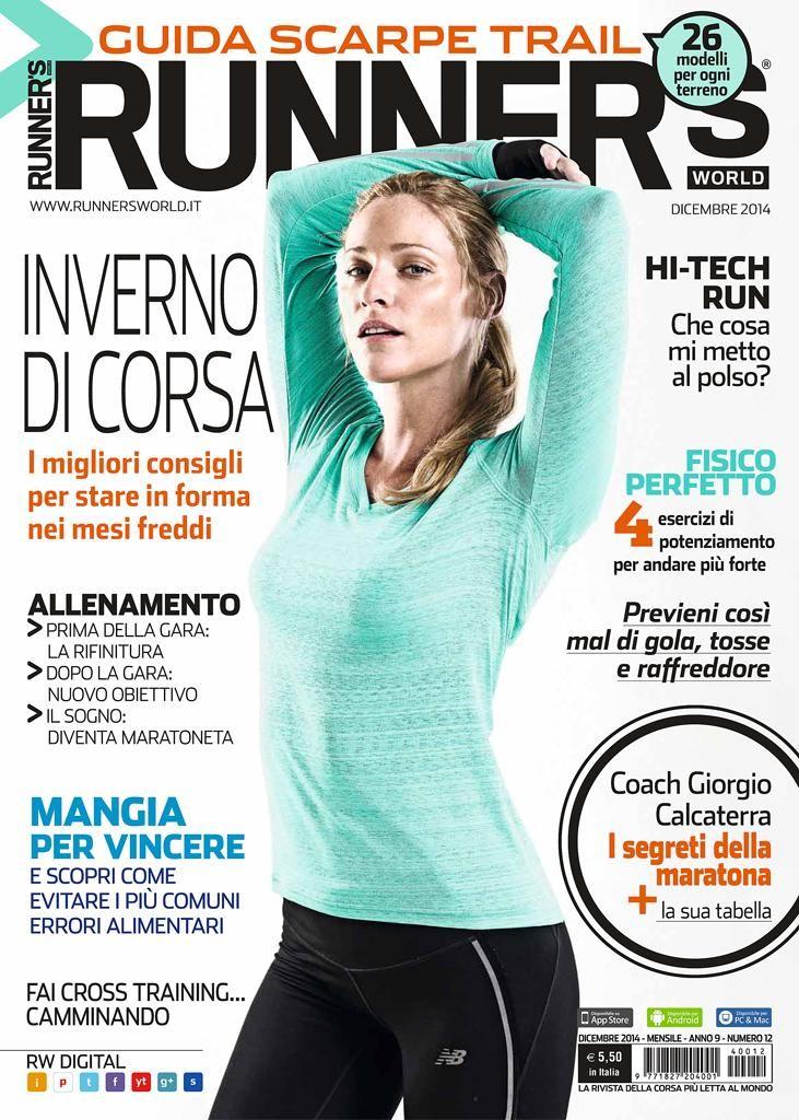 LA NUOVA COPERTINA DI RUNNER'S WORLD! #runnersworldita #dicembre #running #corsa #correre