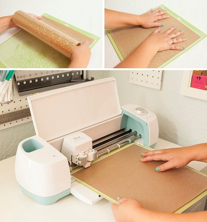 How to use glitter iron-on with your Cricut!