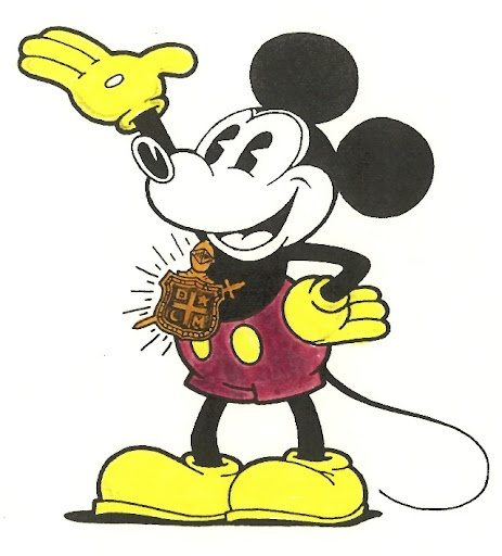Previous pinner wrote:  Mickey Mouse! Yep, he's a DeMolay. AND SO AM I!