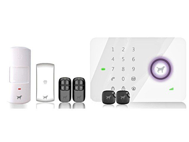 Wireless Alarm System Special with extra door/window sensors and motion detectors is the perfect DIY home security system! No contract and easy installation!