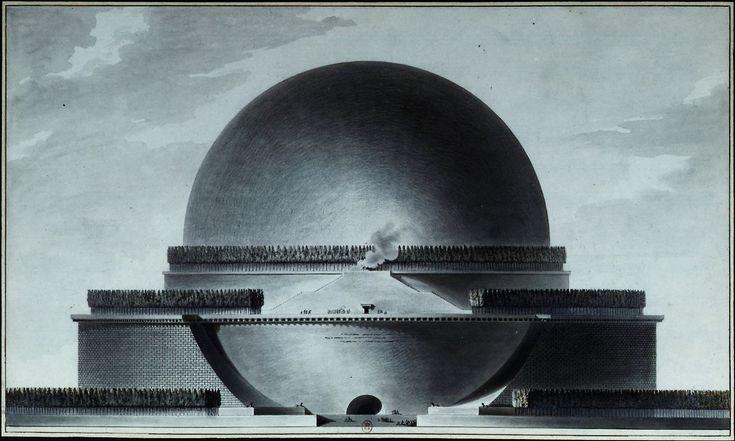 Étienne-Louis Boullée, cenotafio di Newton
