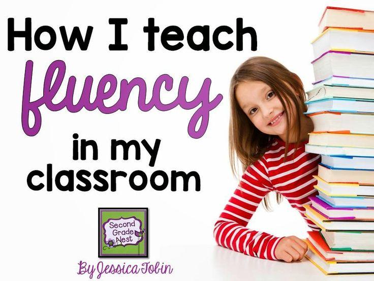 Second Grade Nest: How I Teach Fluency In My Classroom