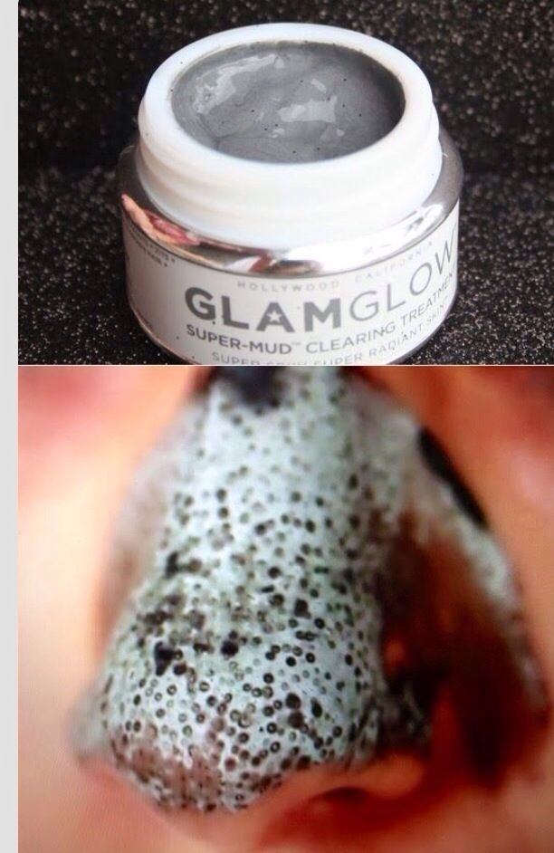 Glam glow!! Just sucks the blackheads and pimples out of your skin! You can get it at sephora