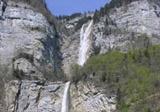 Höchster Wasserfall der Schweiz - bei Amden