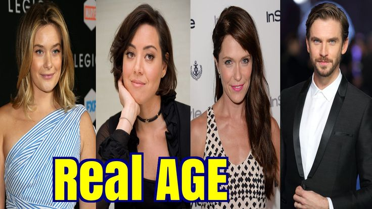 Real AGE of Legion Cast