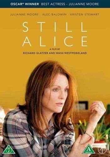 Still Alice [Videoupptagning] ... Alice Howland är lyckligt gift med tre vuxna barn och ett hus på the Cape. Hon är en hyllad Columbia-professor på höjden av sin karriär när hon plötsligt märker en glömska som sakta kryper sig på henne. I takt med att förvirringen börjar skymma hennes tänkande och hennes minne börjar svika får hon en förödande diagnos: tidigt stadium av Alzheimers sjukdom. Som den oberoende kvinna hon är kämpar Alice med att behålla sin livsstil och leva i nuet..