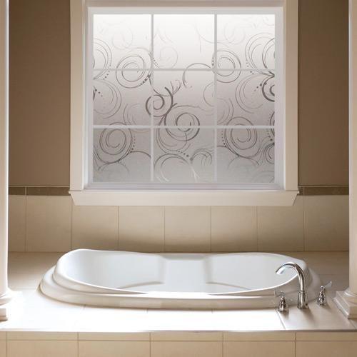 Awesome Bathroom Window Privacy Options