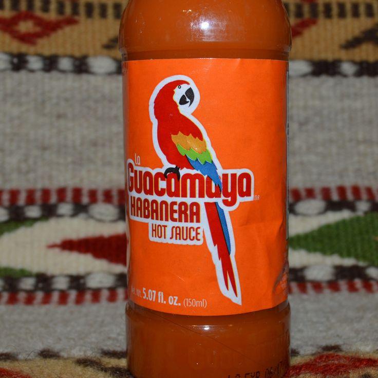 La Guacamaya Authentic Habanera Mexican Hot Sauce