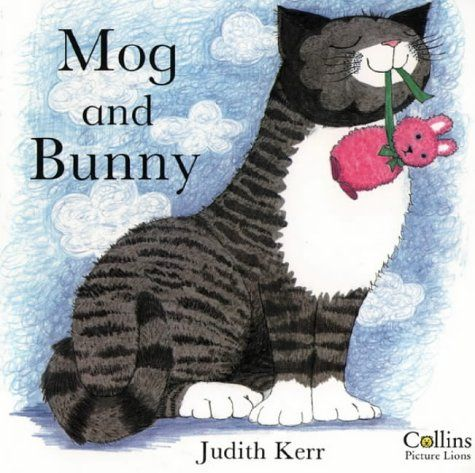We still love the Mog books especially this one and always laugh at Bunny's misadventures, especially when he ends up in Mog's drinking bowl.
